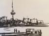 Iphone 2016 2420 senlle tekening Rotterdam