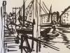 Iphone 2016 2421 senlle tekening Rotterdam
